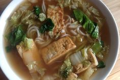 Country Style Vegetable Soup with Fermented Black Beans and Tofu