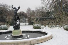 Snow in the Secret Garden