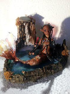 The Fairy Circle - My ooak : Lago incantanto