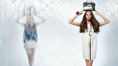 fendi spring 2014 campaign2 Nadja Bender + Joan Smalls Star in Fendi Spring 2014 Ads