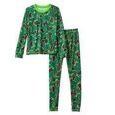 eccdbef49c0 Amazon.com  Boys Climatesmart Teenage Mutant Ninja Turtles 2-Piece  Baselayer Set  Clothing