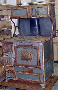 Wood stove for the kitchen.  My Grandmother cooked on one of these.  They bought her an electric stove and she burned everything.  Ma loved her wood stove.