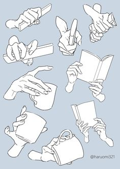 Anatomy of hands hand drawing reference art reference poses drawing hands doodle drawing drawing base Object Drawing, Book Drawing, Drawing Base, Drawing Tips, Hand Drawing Reference, Art Reference Poses, Mascara Anime, Peace Sign Drawing, Base Anime