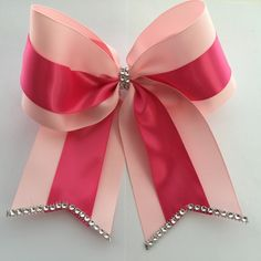 Beautiful Cheer Bows created to match your needs!