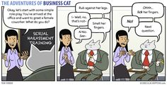 The Adventures of Business Cat - Learning by tomfonder.deviantart.com on @DeviantArt