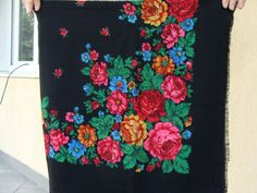 Russian shawl Russian scarf Chale russe от 888VintageShoppe