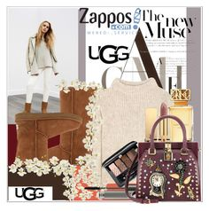 """""""The Icon Perfected: UGG Classic II Contest Entry"""" by crazy-polka-dot ❤ liked on Polyvore featuring SANDERSON, UGG, UGG Australia, Tom Ford, Yves Saint Laurent, Guerlain, Tory Burch, Pier 1 Imports, MAC Cosmetics and Dolce&Gabbana"""