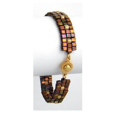 Marching Cubes Bracelet | AllFreeJewelryMaking.com