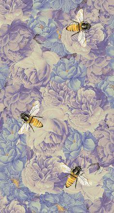 Bee Art Print by Debora Chodik