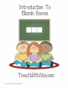 elkonin boxes, lessons for elkonin boxes, elkonin box templates, daily 5 activities, blends, phonemes, phoneme lessons, lessons with blends,...