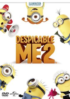 Despicable Me 2 (written by Cinco Paul & Ken Daurio, directed by Pierre Coffin & Chris Renaud) Lucy Wilde, New Trailers, Movie Trailers, Movies Showing, Movies And Tv Shows, Pierre Coffin, Illumination Entertainment, Despicable Me 3, Movie Sites