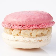 strawberry and vanilla macaron fine art photo by magalerie france via etsy $25