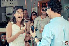 O pedido de casamento Flashmob