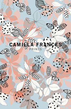 camilla frances floral print More