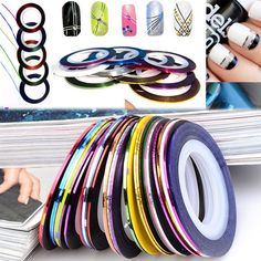 30pcs Rolls Striping Tape Line – 4Kids&Babies  For only 1.99 only at http://4kidsandbabies.com/collections/design-and-creation/products/tape-line  #tape #DoItYourOwn #DIY #Assorted