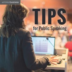 Tips for Public Speaking | doTERRA Business Blog