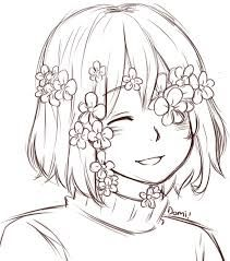 FlowerFell Frisk This is one of my fave AU's