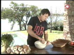 pizza a la parrilla Ariel a la Parrilla - Episodio 8 - 1 de 3 - 03-07-11