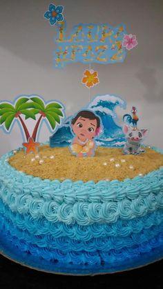 Moana Theme: Laura's birthday Moana Birthday Party, Moana Party, Birthday Diy, 1st Birthday Girls, Birthday Cake, Mohana Cake, Festa Moana Baby, Moana Theme, Girl Birthday Decorations