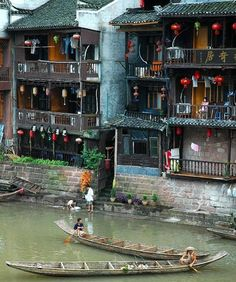 Old China: it's possible! by Valeski - FengHuang, Hunan