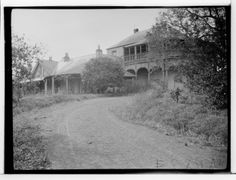 Oatlands House, Dundas in 1927 Sydney Australia, Western Australia, Old Pictures, Old Photos, Gloucester Street, Old Mansions, Australian Homes, Historical Architecture, Historical Pictures