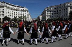 Macedonia / Οι επιβλητικοί Κωδωνοφόροι κατέλαβαν την Θεσσαλονίκη /Konstantinos Tsakalidis / SOOC