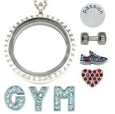 Gym - South Hill Designs, now part of Mialisia (Youngevity) Order… Valentine Day Gifts, Valentines, Create Your Own Story, South Hill Designs, Origami Owl Jewelry, Silver Lockets, Floating Charms, Jewelry Party, Personalized Jewelry