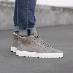 Leather Mid Top Sneaker by ETQ Amsterdam