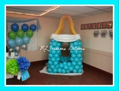 Baby Bottle Balloon Sculpture