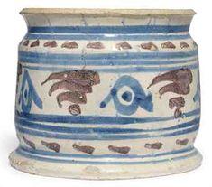 London Delft Drug Jar 1650 - 1700 (Christies)