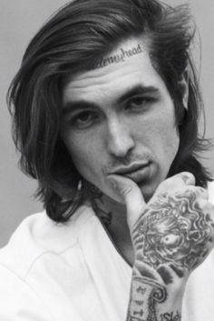 I do love a man with long hair so I present to you- Bradley Soileau.