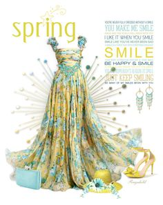 """""""Yellow spring Dress,Spring 2016"""" by ragnh-mjos ❤ liked on Polyvore featuring T+C by Theodora & Callum, Kayu, J.Crew and Bling Jewelry"""