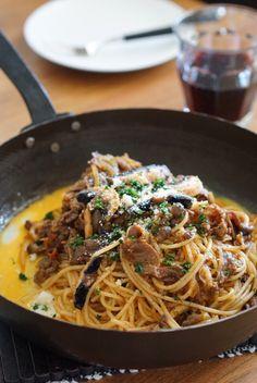 Spaghetti Napolitan, Japanese style pasta.