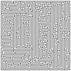maze | Printable Maze 40