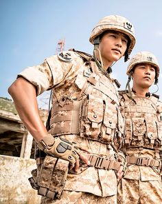 DESCENDANTS OF THE SUN--SONG JOONG KI--JIN GOO
