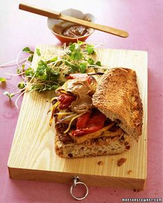 This Thai-spiced tofu, combined with whole-grain bread and peanut butter, give this sandwich its staying power.