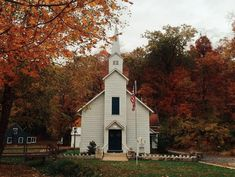 """<b><a href=""""http://www.elsah.org/"""">The Village of Elsah</a></b><br> <br> You know those mini village displays you see in department stores and under people's Christmas trees during the holidays? Yeah, Elsah looks like that -- except life size. This little Illinois town is beautiful and is only 40 minutes from the city. Park the car and experience it all on foot -- you'll feel like you've taken a step back in time. Photo courtesy of Instagram / <a…"""
