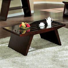 Furniture of America CM4313C Tavius Coffee Table - Home Furniture Showroom