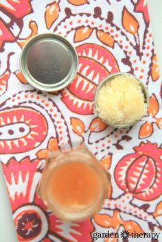 Honey lip scrub to soften chapped lips, heal inflammation and even prevent cold sores