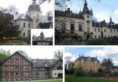 Zamek Kliczków - różne ujęcia