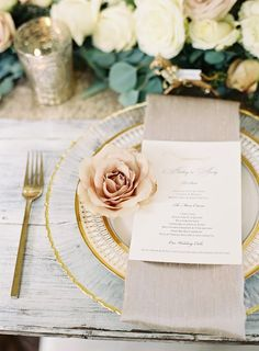 A Traditional Southern Wedding with sophisticated personal touches at CJs Off the Square. Champagne, blush, ivory, gold garden outdoor wedding in Nashville, Tennessee. Photos by Nathan Westerfield.