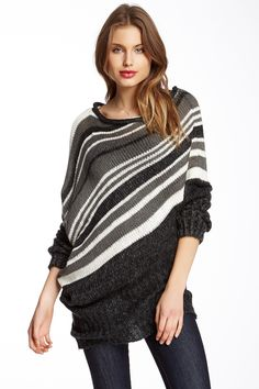 Draped Knit Sweater by Love Stitch on @HauteLook
