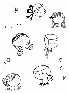 Shannon Hays / Shindig Design Studio: How Shall I Brooch the Subject? Doodle Drawings, Easy Drawings, Doodle Art, Drawing For Kids, Drawing Tips, Drawing Sketches, Simple Doodles, Cute Doodles, Line Illustration