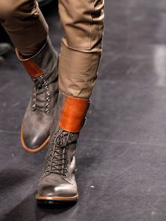 Incredible high boots!! Paul Smith fall winter 2011