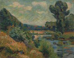 bords de Marne à Charenton 1895