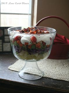 Trifle Bowl Salad--the low carb way!
