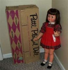 Patti Playpal dolls from the 1960s. This one lookes exactly like the one I had.