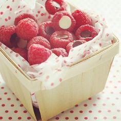 .@sweetpaulmagazine   Day 2 of Sweet Paul Holiday Countdown - Chocolate Filled Raspberries #yum www...   Webstagram
