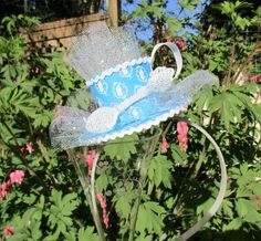 Totally Alice in Wonderland Themed Teacup Headband by queensflamingo on Etsy
