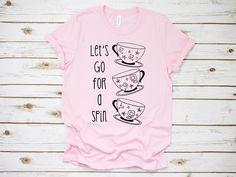 a12377d01 Disney / Alice in Wonderland / Teacups / Mad Hatter / Disney World /  Disneyland / Mickey / Minnie / Magic Kingdom/ T-Shirt / T Shirt / Shirt